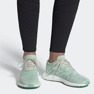 Adidas Pureboost Go Wmns Clear Mint Running Shoes